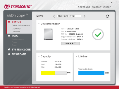 ThinkPad T440p SSD Upgrade with Transcend MTS400 256GB 2242