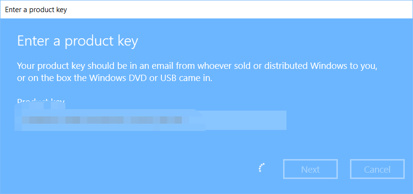 Activate Windows 10 using Windows 7 Key – Mostly About Computers