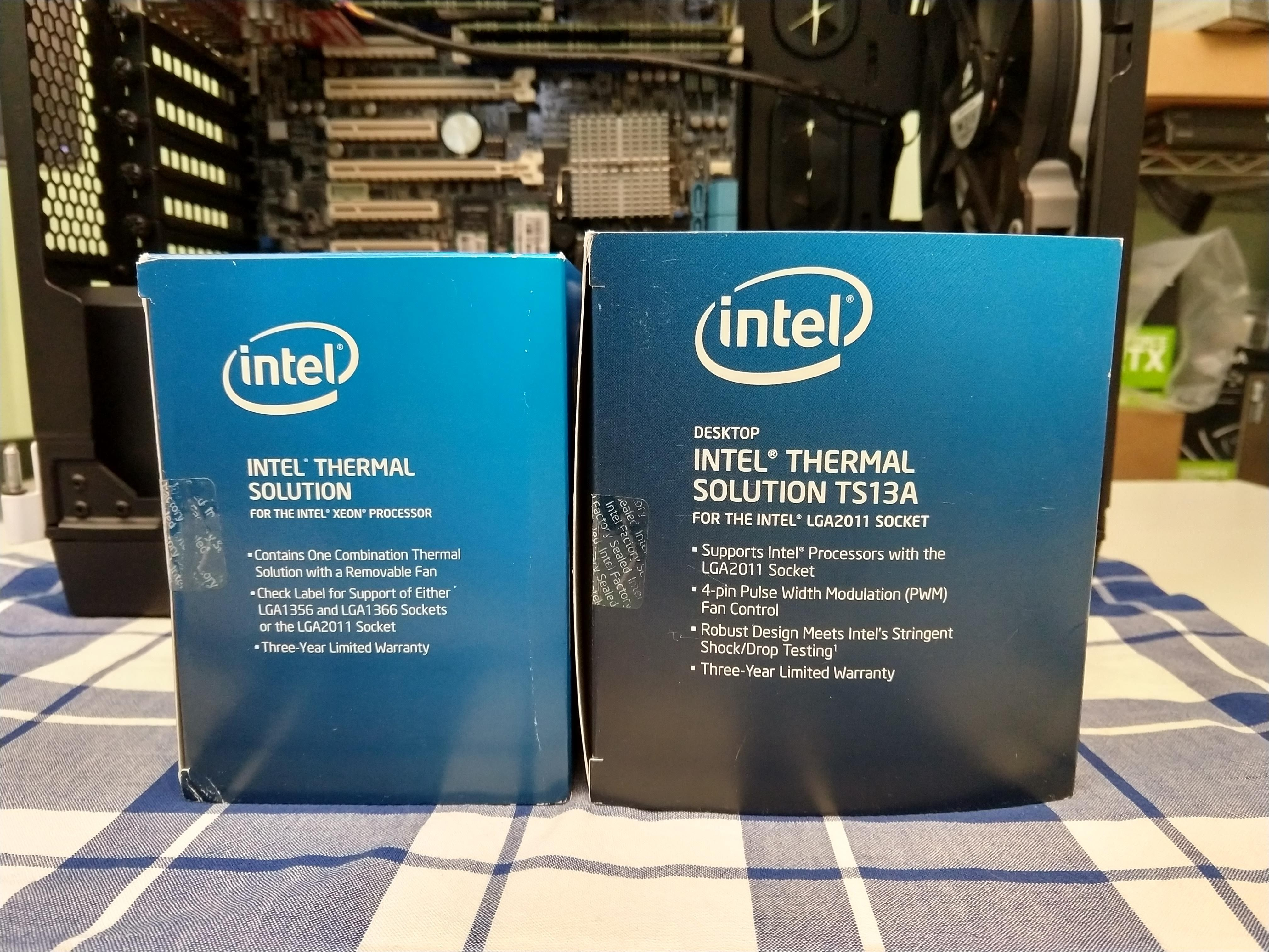 LG1366 Intel ThermalSolution Passive